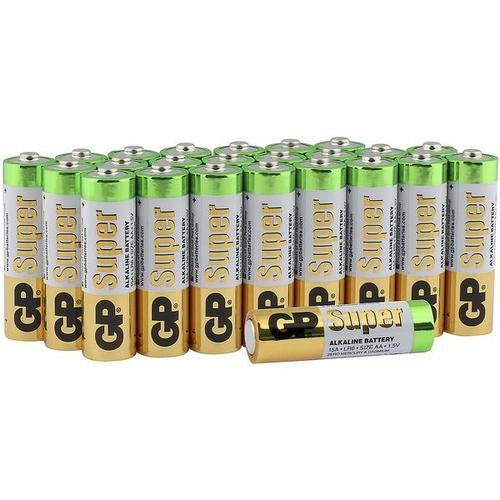 24er-Pack Batterien »Super Alkaline« Mignon / AA / LR06, GP Batteries
