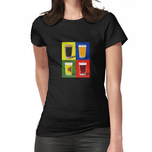 Andy Warhol Bier Pints Frauen T-Shirt
