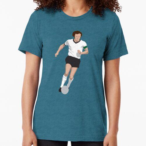 Franz Beckenbauer Germany Tri-blend T-Shirt