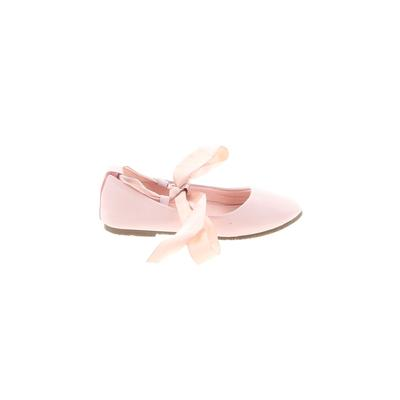 Kids Dream - Kids Dream Flats: Pink Solid Shoes - Size 6