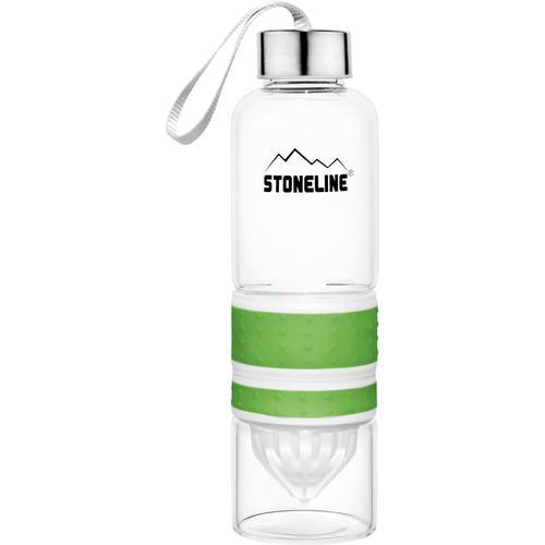STONELINE Trinkflasche, (Set, 1 tlg.), herausnehmbarer Saftpressen-Aufsatz, 0,55 L grün Aufbewahrung Küchenhelfer Haushaltswaren Trinkflasche