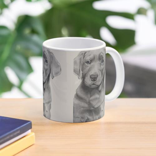 Silver Lab Mug
