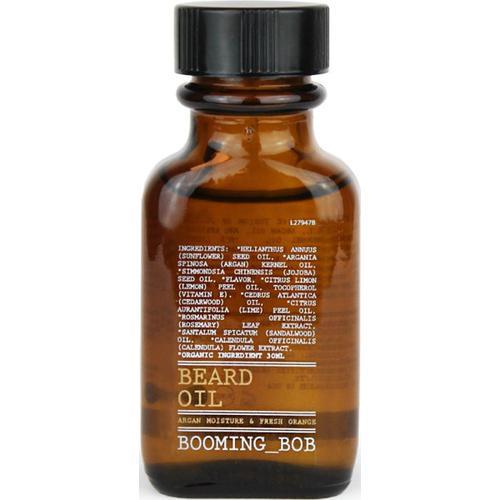 Booming-Bob Beard Beard Oil, Argan moisture & fresh Orange 30 ml Bartöl
