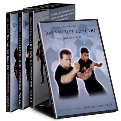 """Cold Steel Instructional Videos & DVDs Ron Balicki's Jun Fan Jeet Kune Do Dvds CSVDJKD"""