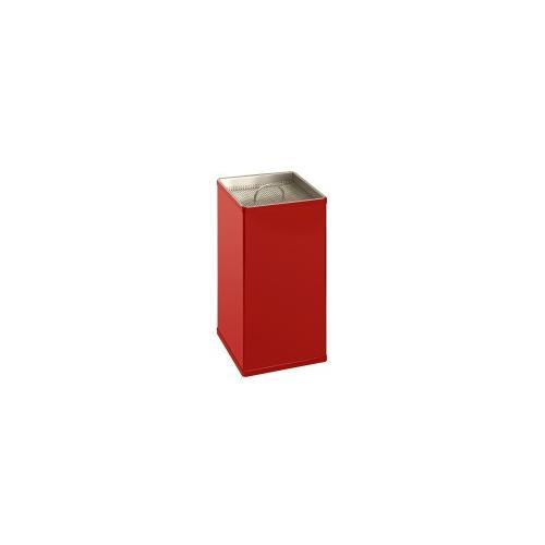 Viereckiger Sandaschenbecher VB 880000 - Rot