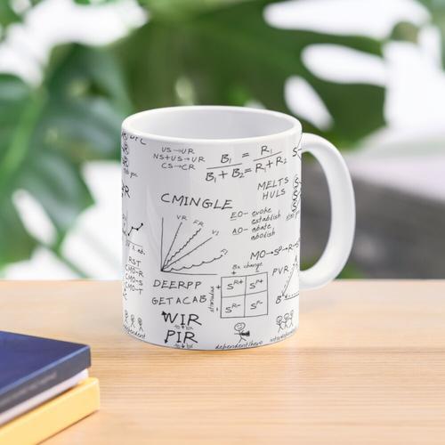 ABA whiteboard notes Mug
