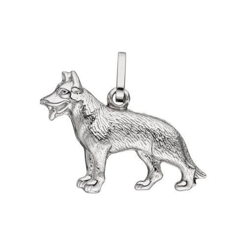 JOBO Kettenanhänger »Schäferhund«, 925 Silber