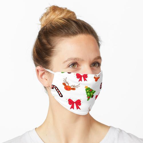Weihnachtsdekorationen Maske