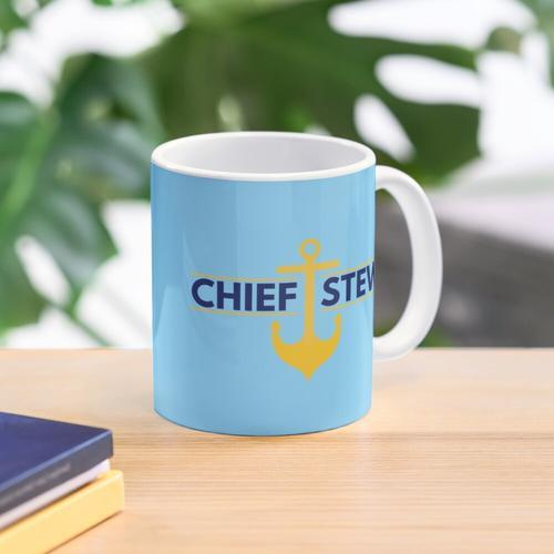 Chief Stew AKA Chief Stewardess Mug