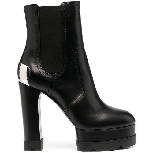 Casadei Stiefel mit Blockabsatz