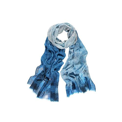 Deerberg Damen Schal Odalinde blau