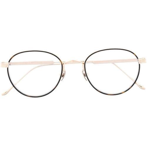 Cartier Brille mit rundem Gestell