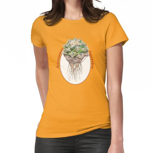 Design Ariocarpus fissuratus Women's Fitted T-Shirt