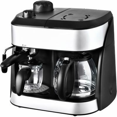 Team Kalorik Espressomaschine TKG EXP 1001 C, Permanentfilter schwarz Kaffee Espresso SOFORT LIEFERBARE Haushaltsgeräte