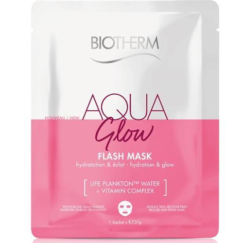 Biotherm Aqua Super Mask Glow 31 g Tuchmaske