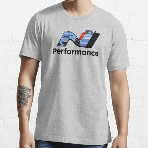 N Leistung - Leistung Blau Essential T-Shirt