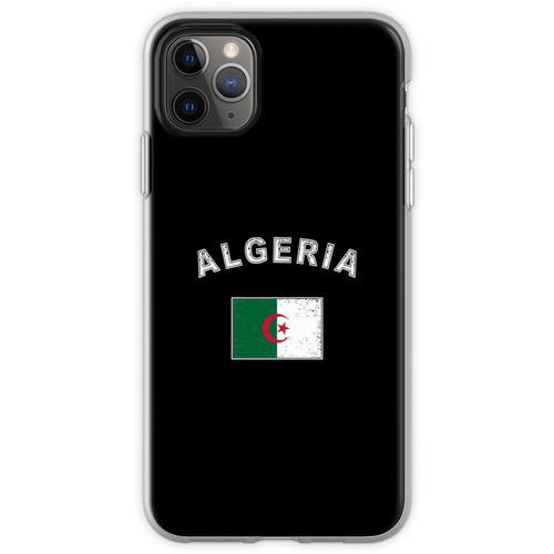 Algerien algerisch Flagge Fahne Flexible Hülle für iPhone 11 Pro Max