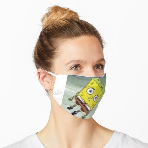 meme Spongebob von Spongebob Maske