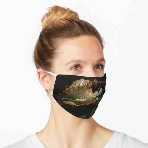 Glasschale Maske