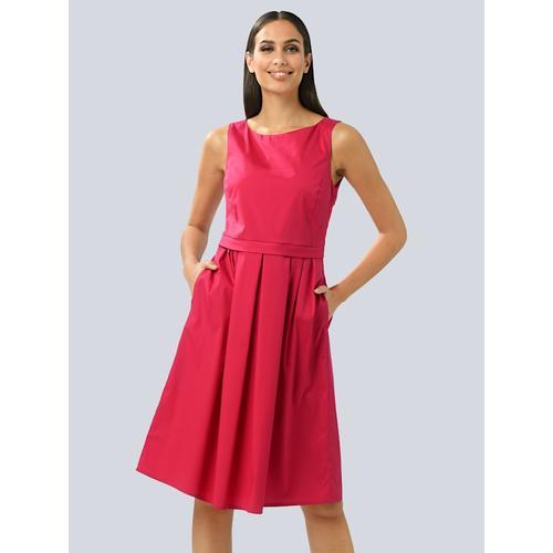 Alba Moda, Kleid aus edler Ware, rot