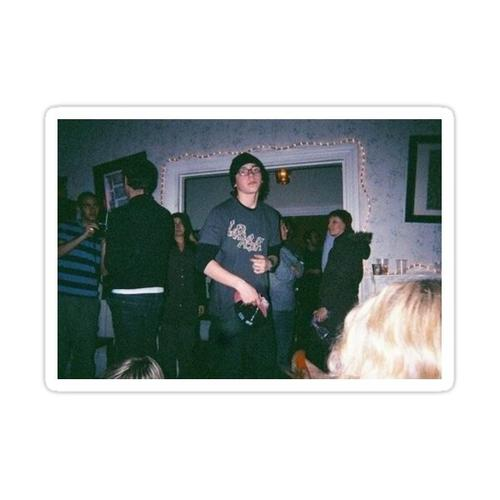 sid at a party Sticker