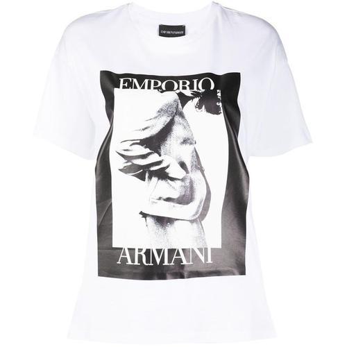 Emporio Armani T-Shirt mit Foto-Print