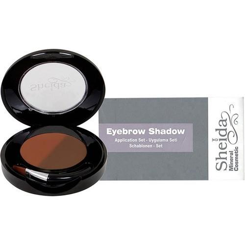 Set - Sheida Eyebrow Shadow (1) 4,5 g + Schablonen Augenbrauenpuder