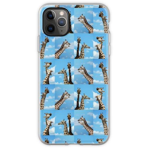Giraffen-Giraffe Giraffen-Giraffe Flexible Hülle für iPhone 11 Pro Max