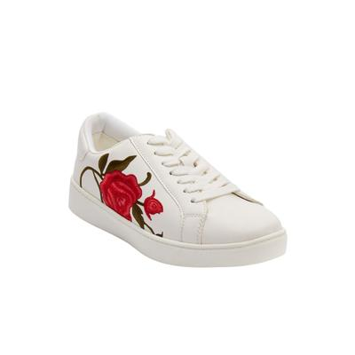 Women's The Marleigh Sneaker by Comfortview in White (Size 9 1/2 M)