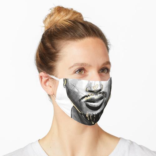 90er Hip Hop Premium Serie - ODB Maske