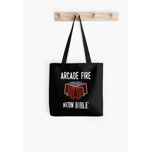 Arcade Fire Neon Bibel Tasche