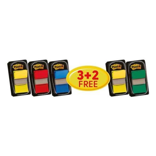5er-Pack Haftstreifen »Index« 43,2 x 25,4 mm, Post-it Index, 4.32x2.54 cm