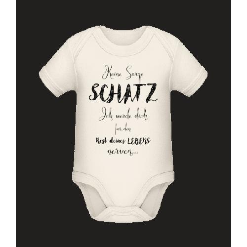Nerven Für Das Restliche Leben - Baby Bio Strampler