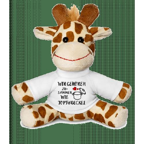 Wie Topf Und Deckel - Giraffe