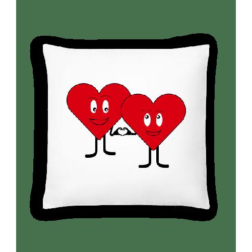 Zwei Herzen Lieben Sich - Kissen
