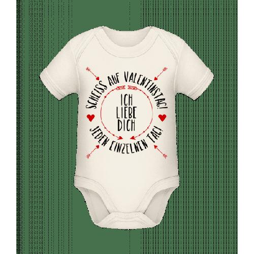 Liebe Dich Jeden Einzelnen Tag - Baby Bio Strampler
