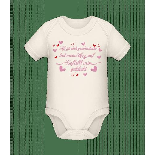 Herz Gefällt Mir Geklickt - Baby Bio Strampler