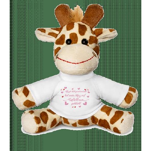 Herz Gefällt Mir Geklickt - Giraffe