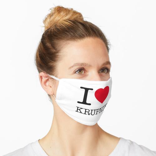 I LOVE KRUPNIK Maske