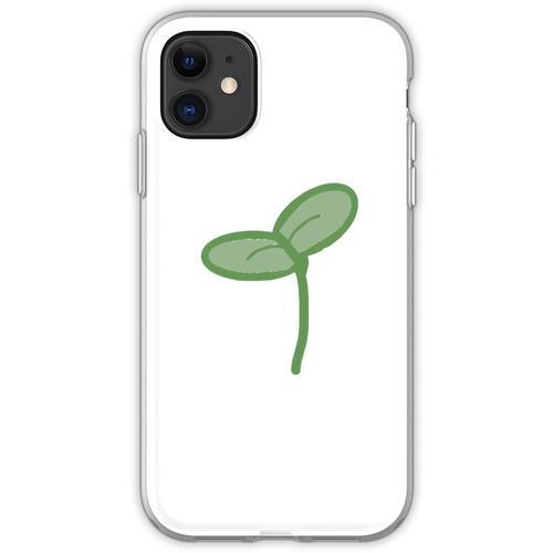 Pflanzenspross Flexible Hülle für iPhone 11