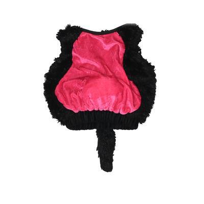 Costume: Black Solid Accessories...