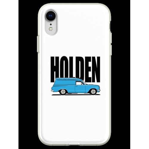 EH Kastenwagen - Blau Flexible Hülle für iPhone XR
