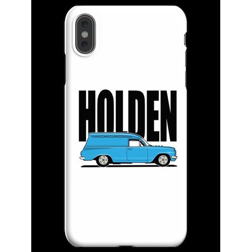 EH Kastenwagen - Blau iPhone XS Max Handyhülle