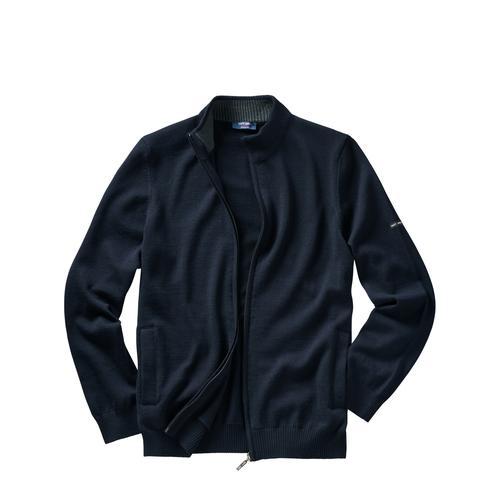 Saint James Herren Bretonische Strickjacke blau L, M, XL, XXL