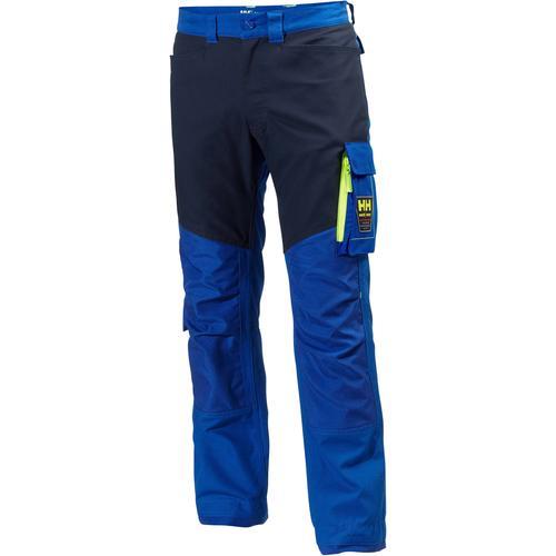 Helly Hansen Arbeitshose HH Aker, mit extra Knieverstärkung blau Herren Arbeitshosen Arbeits- Berufsbekleidung