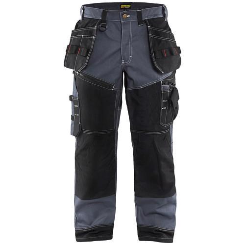 BLÅKLADER Arbeitsbundhose X1500, mit CORDURA-Verstärkung an diversen Taschen grau Herren Bundhosen Arbeitshosen Arbeits- Berufsbekleidung