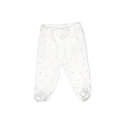 Baby Gap Leggings: White Bottoms - Size Up to 7lbs