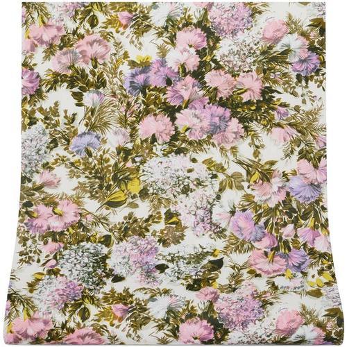 Gucci Tapete mit Distel-Print