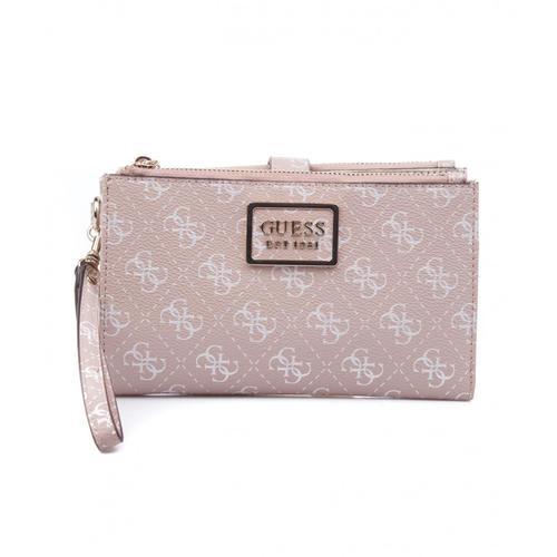 Guess Damen Brieftasche Tyren Rosa