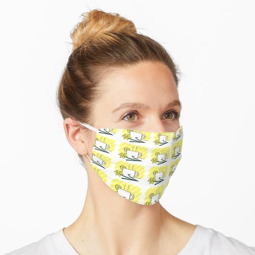Zitronentee Maske